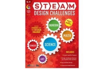 STEAM Design Challenges Resource Book, Gr. K, CTP 8207