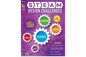 STEAM Design Challenges Resource Book, Gr. 4, CTP 8211