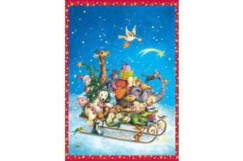Coppenrath Advent Calendar 'Whizzing Though the Snow' Traditional for Children