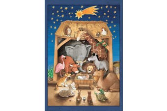 Coppenrath Advent Calendar 'Baby Jesus and the Animals' Traditional for Children