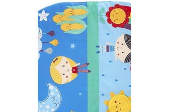 East Coast Nursery Baby Sensory Say Hello Tummy Time Mat