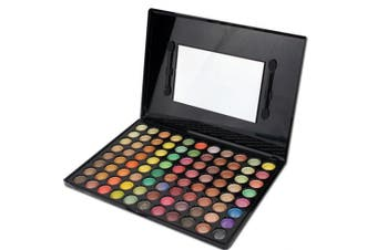(#6) - BrilliantDay 88 Colours Professional Eyeshadows Cosmetic Make up Palette Set Kit#6