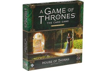 Fantasy Flight Games FFGGT29 House of Thorns Deluxe Expansion: AGOT LCG 2nd Ed, Multicoloured