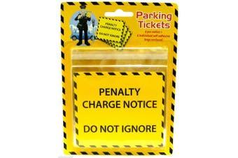 Fake Parking Ticket Good Fun Joke Penalty Charge Notice Fine Prank Novelty x 6 by Henbradnt