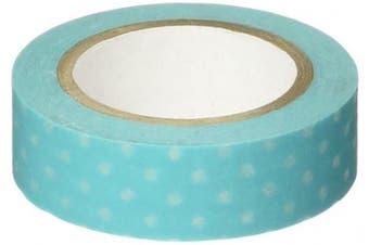 (Swimming Pool Swiss Dot) - Doodlebug Washi Tape 15mmX12yd