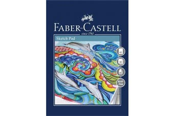 (CS Sketch Pad, A3) - Faber-Castell Creative Studio Sketch Pad, A3 100 gsm Pad of 50 Sheets