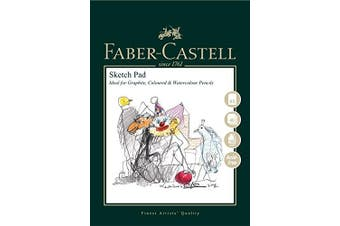 (A&G Sketch Pad, A5) - Faber-Castell Art & Graphic Sketch Pad, A5 160 GSM Pad of 40 Sheets