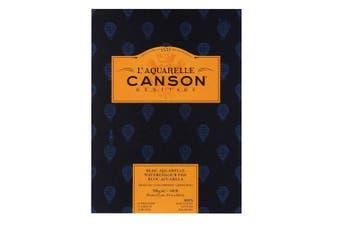 Canson Heritage Watercolour Pad 300gsm Cold Pressed (Fine Grain) 23 x 31 cm 12 sheets