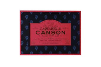 (26 x 36 centimeters) - Canson Artist Canson Legacy Bonded 4 Sides 20 Sheets Grit Satin Satin finish 26 x 36 cm