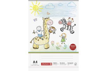 Baier Schneider & Sketch Pad Colouring Pad (210 x 297 MM x 100 MM 4 g / M ², Childs Drawing 75 Sheets