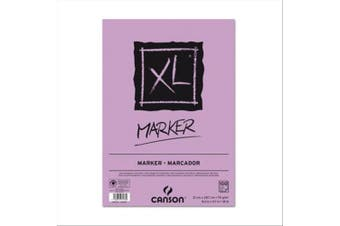 (DIN A3) - Canson XL Marker 297237 Pad A3 70 g/m² 100 Sheets White