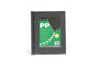 (Clear, 3 Holes (10 Pockets)) - Clairefontaine Goldline Transparent Pockets, A3, 150 Micron, 3 Holes (10 Pockets), Clear