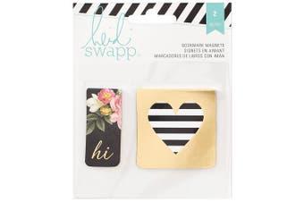 American Crafts Heidi Swapp Memory Planner Bookmark Magnets, Acrylic, Multicolour