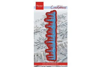 (Snowy) - Marianne Design Creatables Snowy Icicles Die, Blue