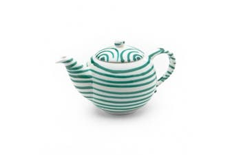 (500ml, Dizzy Green) - Gmundner Keramik Tea Pot, Dizzy Green, 500ml