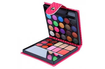 BrilliantDay 32 Colours Professional Cosmetic Make up Palette Set Kit Combination with Eyeshadows Lip Gloss Blusher Highlight powder