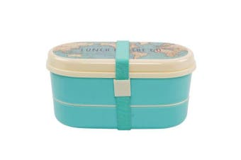Vintage Map Bento Lunch Box