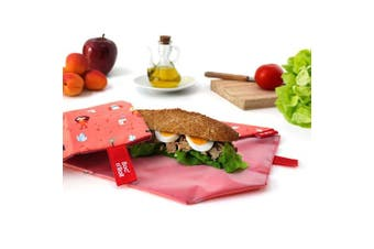 (Orange) - NEW - Roll'eat- Boc'n'Roll Kids Space (orange) - Reusable sandwich wrap - food bags - food wrap - lunch bag - zero waste - BPA Free
