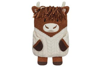 Aroma Home Microwaveable Hottie, Highland Cow