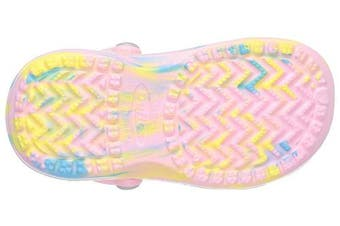 (6/7 UK Child, Pink (Pink/Hellblau/Yellow)) - Chung Shi Clogs And Mules Unisex Kids'