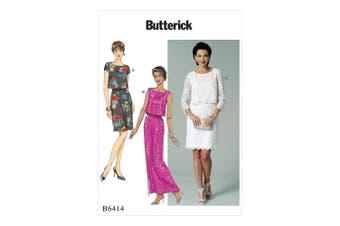 Butterick Patterns Butterick Pattern 6414 E5,Misses Dress,Sizes 14-22, Multicoloured