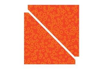 """(Half-Square Triangles 4 1/2"""" Assem  Square (B&W)) - Sizzix 10cm Finished Half-Square Triangles Bigz Die"""