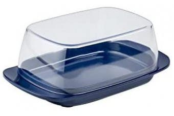 (One Size, Ocean Blue) - Mepal Butter Dish, melamine/san, Ocean Blue, One Size
