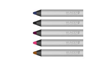 (Glitter Emerald) - Wunder2 Super-Stay Liner Long-Lasting & Waterproof Coloured Eyeliner, 24-Hour Wear Eye Pencil, Glitter Emerald Colour X
