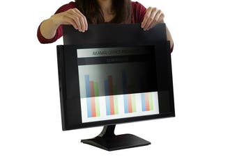 "(23.8"" Widescreen (16:9), Black) - Akamai Office Products (Diagonally Measured Privacy Screen For Widescreen Computer Monitors … (60cm WIDESCREEN (16:9), Black)"