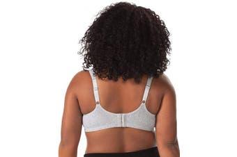 (38 B, Black) - LEADING LADY Women's Soft Nursing Bra