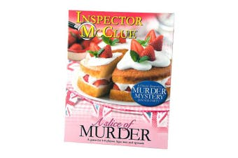 Paul Lamond 6345 A Slice Of Murder Mystery Dinner Party Game