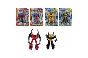robot transform small action figure toy stocking filler christmas gift