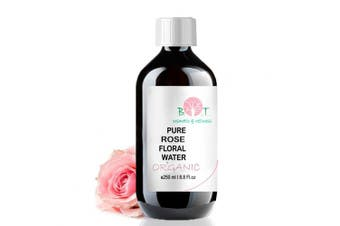 Organic Rose Hydrosol 250 ml Floral Water 100% Pure