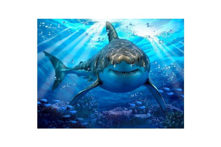 Howard Robinson HR13582 63 Piece Super 3D Children's Puzzle - Great White shark