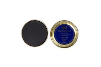 (Dark Brown) - Barker Wax Polish and Application Brush