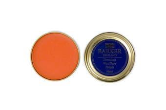 (Tan) - Barker Wax Polish and Application Brush