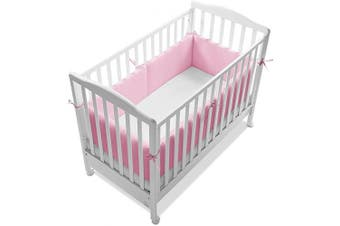 Italbaby 4 Sides Giroletto Bumper, 30 cm, Pink, Multi-Colour, One Size