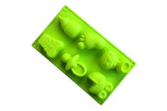 BrilliantDay Cake Decoration Baking Mould Cookie DIY Silicone Moulds for Chocolate, Jelly and Candy etc#6