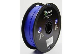 1.75mm Dark Blue ABS 3D Printer Filament - 1kg Spool (2.2 lbs) - Dimensional Accuracy +/- 0.03mm