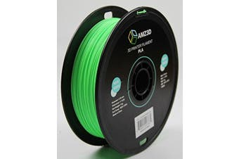 1.75mm Neon Green PLA 3D Printer Filament - 1kg Spool (2.2 lbs) - Dimensional Accuracy +/- 0.03mm
