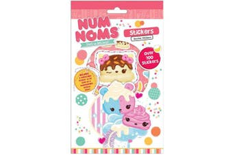 Num Noms Set of 700 Stickers. Including Collectable Sticker