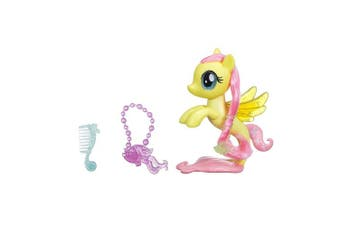 MY LITTLE PONY The Movie Glitter and Style Sea Pony Flutter Shy Figure