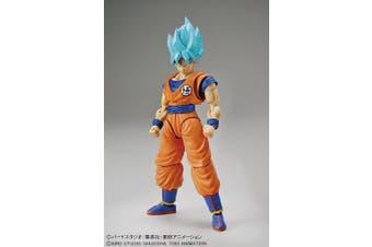 Bandai Hobby Figure-Rise Standard SSGSS Goku Plastic Model Kit