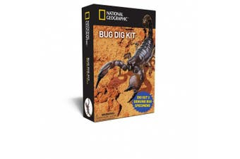 National Geographic NGBUG Real Bug Dig Kit