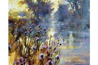 The Art Group Chris Forsey Riverside Sunrise Canvas Print, Cotton, Multi-Colour, 1.8 x 40 x 50 cm