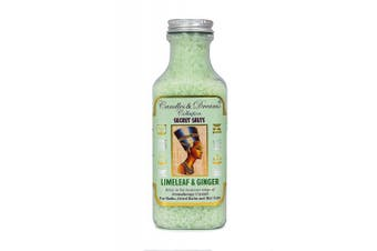 Hot tub Spa / Bath Aromatherapy Scents Crystals (Limeleaf & Ginger)