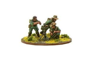 Warlord Games, Chindit Medium Mortar team, Bolt Action Wargaming Miniatures