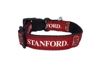 NCAA Stanford Cardinal Dog Collar (Team Colour, Large)
