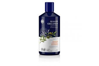 (Argan Oil Damage Control) - Avalon Organics Argan Oil Damage Control Shampoo, 410ml