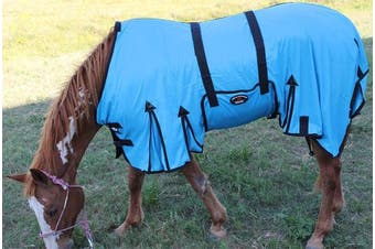 Horse Bug Mosquito Fly Sheet Summer Spring Airflow Mesh UV 73401
